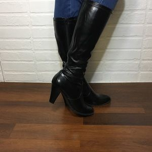 Croft & Barrow Patent Leather Boots 9.5